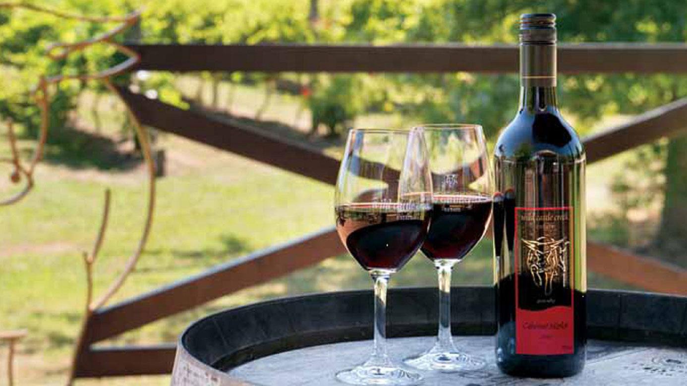 Award Winning Wines | Wild Cattle Creek Estate Restaurant